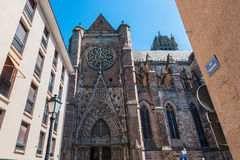 Cathedrale Notre-Dame in Rodez, France Stock Photo