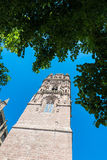 Cathedrale Notre-Dame in Rodez, France Stock Images