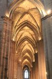 Cathedrale Notre-Dame, Rodez (France ) Stock Photography