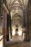 Cathedrale Notre-Dame, Rodez (Frankrijk) Stock Foto's
