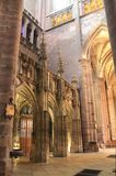 Cathedrale Notre-Dame, Rodez (Frankrike) Royaltyfri Bild