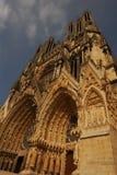 cathedrale paniusi notre Reims Zdjęcie Stock