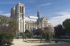 cathedrale Paniusia De Notre Fotografia Stock
