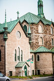 The Cathedrale in the Poor Trois-Riviere Area Stock Photography