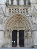 Cathedrale Saint-Andre, Bordeaux ( France ) Royalty Free Stock Photos