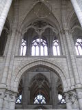 Cathedrale Saint-Etienne, Meaux ( France ) Royalty Free Stock Photography