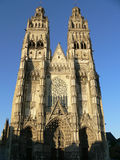 Cathedrale Saint-Gatien, Tours ( France ) Stock Photography