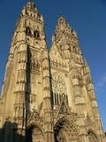 Cathedrale Saint-Gatien, Tours ( France ) Stock Photography