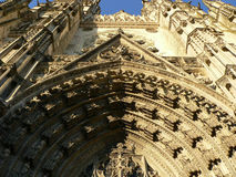 Cathedrale Saint-Gatien, Tours ( France ) Royalty Free Stock Photography