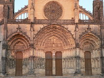 Cathedrale Saint-Jean-Baptiste, Bazas ( France ) Royalty Free Stock Photo