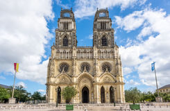Cathedrale Sainte Croix d Orleans. In France Royalty Free Stock Photos