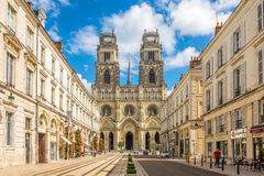Cathedrale Sainte Croix d Orleans Stock Photography