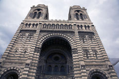 Cathedrale Sainte-Marie-Majeure Stock Photo