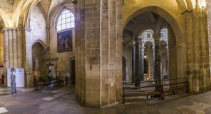 Cathedrale Sainte Sauveur em Aix-en-Provence, França Foto de Stock Royalty Free