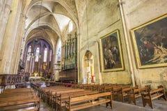 Cathedrale Sainte Sauveur em Aix-en-Provence, França Foto de Stock