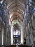 Cathedrale St-Pierre-et-St-Paul, Troyes ( France ) Royalty Free Stock Photos