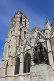 Cathedrale Sts Michel et Gudule, Brussels Royalty Free Stock Images