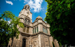 Cathedrale in Varna Stock Image
