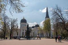 Cathedrale vin,图表沃龙佐夫的纪念碑 免版税库存照片