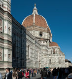 Cathedraledi Santa Maria del Fiore, Florence Stock Afbeeldingen
