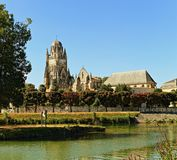 Cathedralesaint pierre, Saintes, Frankrijk Stock Afbeelding
