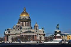 Cathedrall för St. Isaacs Arkivfoton