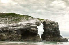 Cathedrals beach, Galicia Royalty Free Stock Photos