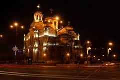 Cathedrals in Bulgaria Royalty Free Stock Photos