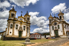 Cathedrals of Mariana Stock Image