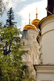 Cathedrals in Moscow Kremlin Royalty Free Stock Images
