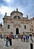 Cathedrals of St. Blaise and Assumption, Dubrovnik Stock Photos