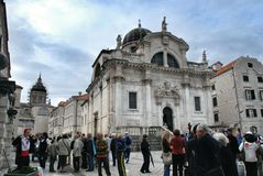 Cathedrals of St. Blaise and Assumption, Dubrovnik Royalty Free Stock Photo