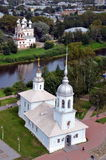 Cathedrals of Vologda Royalty Free Stock Image