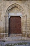 Cathedreal door Royalty Free Stock Images