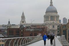 Catheral de San Pablo en Londres Imagen de archivo libre de regalías