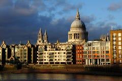 Catheral Londres do St Paul Foto de Stock