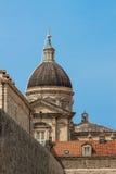 Catherdal Dubrovnik Arkivfoton