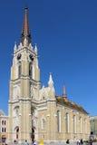 Catherdal en Novi Sad Foto de archivo libre de regalías