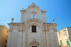Catherdal of Molfetta. Puglia. Italy. Royalty Free Stock Photography