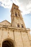 Catherdal of st. lawrence in Trogir Royalty Free Stock Photography