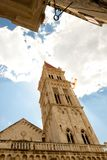 Catherdal of st. lawrence in Trogir, Croatia. Royalty Free Stock Photography