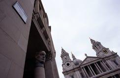 Catherdral för St Pauls, London Royaltyfria Foton