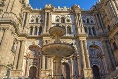 Catherdral Malaga Stock Image