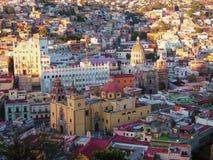 Catherdral storico in Guanajuato, Messico Immagini Stock