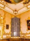 Catherine's-Palast Tsarskoe Selo St Petersburg Russland Stockfotos