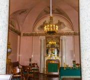 Catherine's-Palast Tsarskoe Selo St Petersburg Russland Stockbild