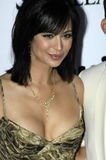 Catherine Bell on the red carpet. Catherine Bell on the red carpet in Los Angeles on February 26 2005 Stock Image