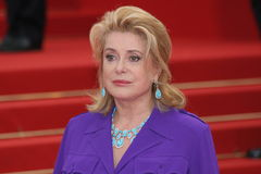 Catherine Deneuve Royalty Free Stock Images