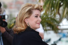 Catherine Deneuve Royalty Free Stock Image