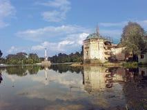 Catherine duży staw jest park Fotografia Royalty Free